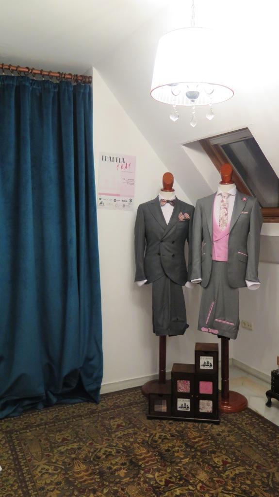 Modelos exclusivos de traje para hombre