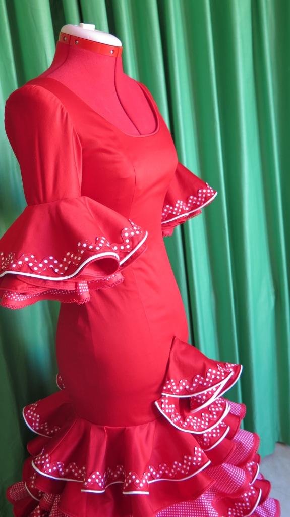 traje flamenco granada