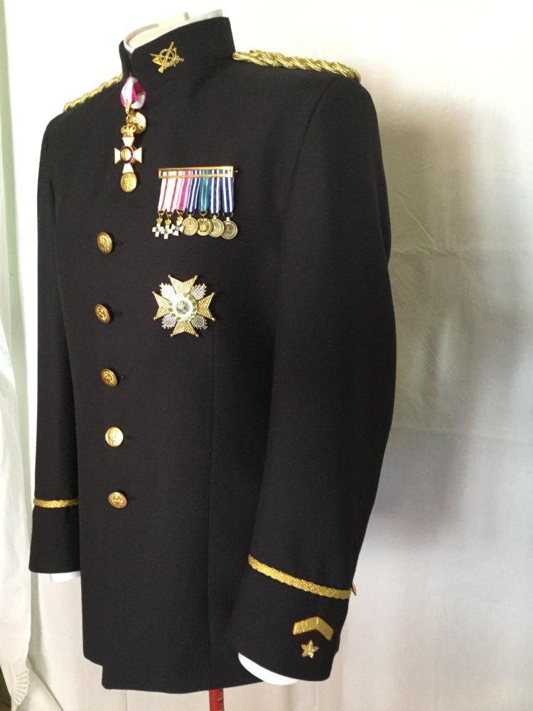 bordados uniforme de etiqueta ejercito